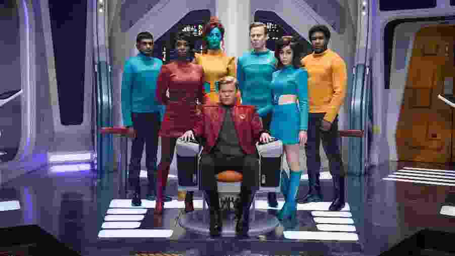 """Cena de """"USS Callister"""", episódio da quarta temporada de """"Black Mirror"""" - Jonathan Prime / Netflix"""