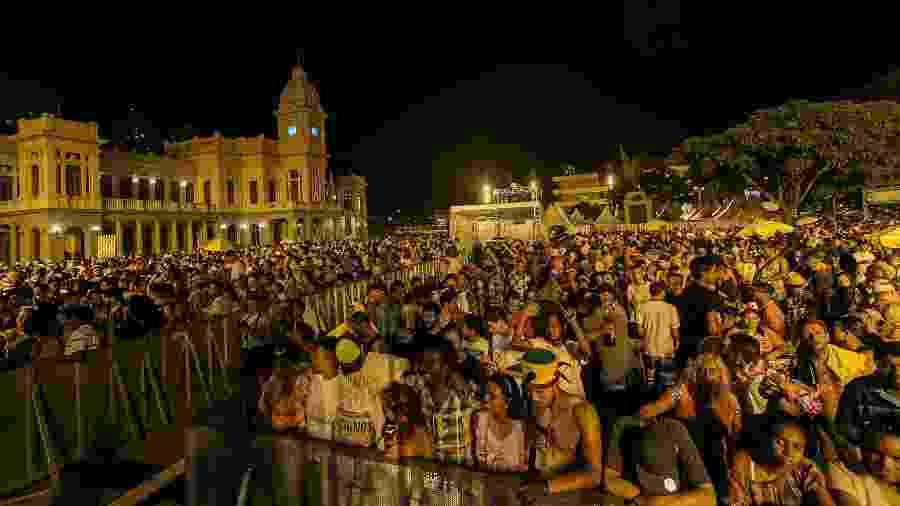 Praça da Estação no Carnaval de Belo Horizonte: blocos condenam repressão da PM em carta aberta - Julia Lanari/Belotur/Divulgação
