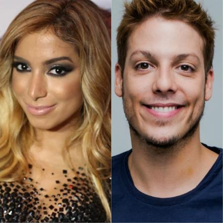 Em 2015, surgiram vários boatos de um namoro entre Anitta e Fábio Porchat. Na época, os dois negaram - Divulgação/Montagem UOL