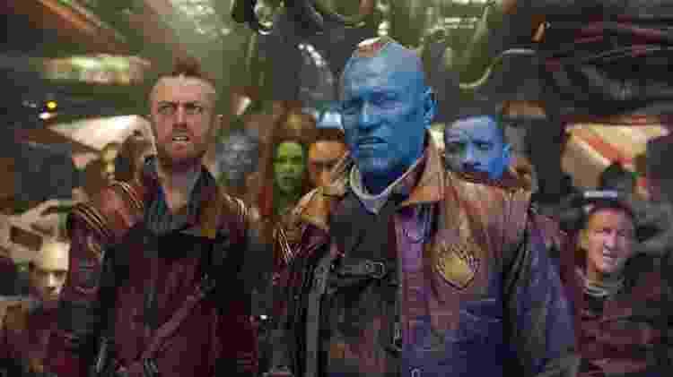 """O ator Michael Rooker como Yondu em cena de """"Guardiões das Galáxia Vol. 2"""" - Reprodução - Reprodução"""