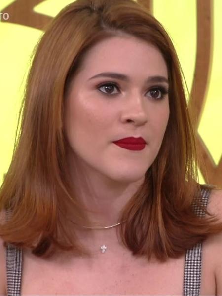 """Ana Clara no """"Encontro"""", da TV GLobo - Reprodução/Globo"""