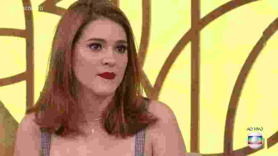 """Ana Clara no """"Encontro"""" - Reprodução/Globo"""
