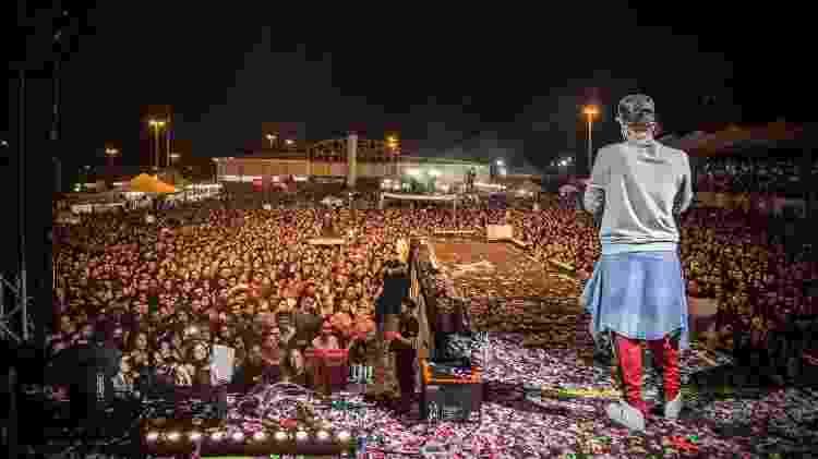 Show em Cianorte continuou normalmente - Divulgação - Divulgação