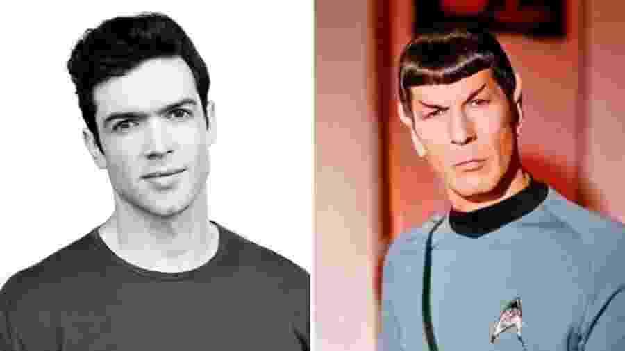 Ethan Peck será novo Spock na TV - Reprodução