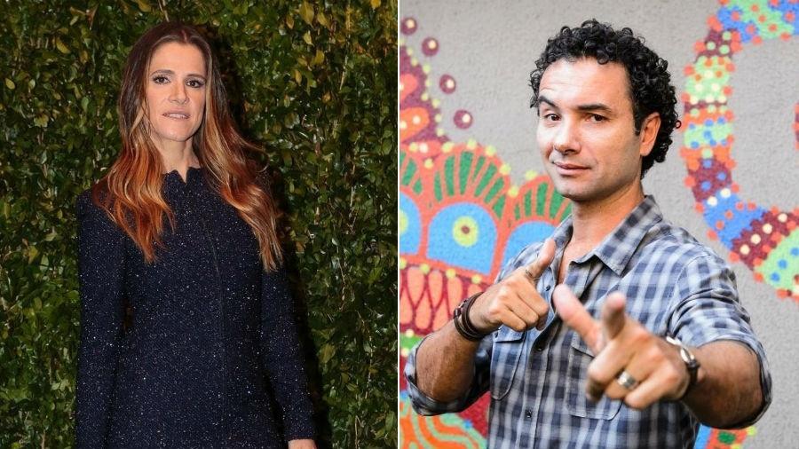 Ingrid Guimarães e Marco Luque - AgNews/TV Globo/Divulgação