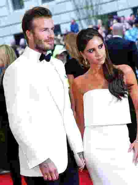 David e Victoria Beckham - Getty Images