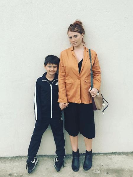 Mariah de Moraes e o filho, João Paulo, de 9 anos - Reprodução/Instagram