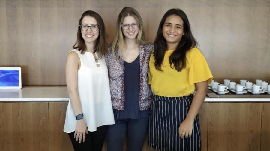 Meninas brasileiras em competição em Oxford - Arquivo Pessoal