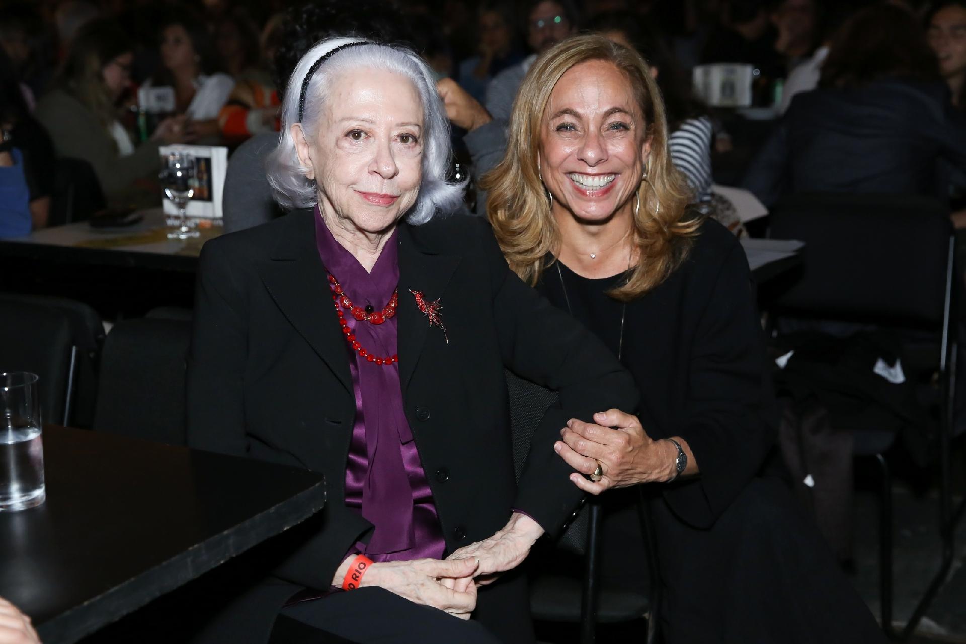 Aos 89, Fernanda Montenegro curte show de Milton Nascimento com famosos
