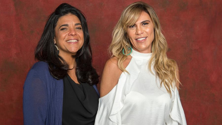 """Izabel de Oliveira e Paula Amaral, autoras de """"Verão 90"""" - Estevam Avellar/TV Globo"""