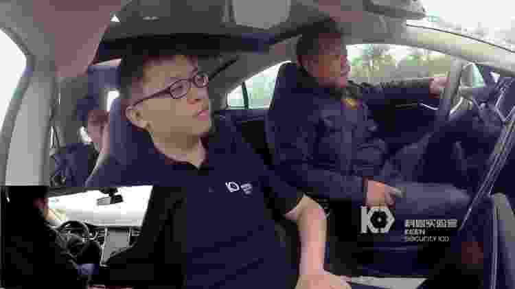 Em 2016, chineses da Keen Security Lab conseguiram frear e destravar portas de um Tesla  - Reprodução