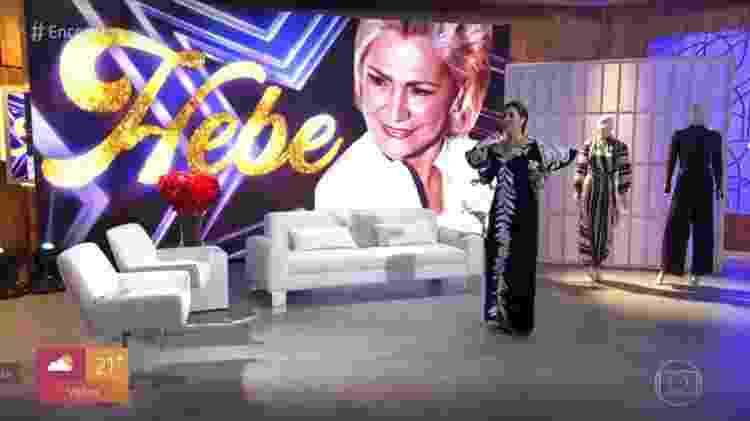 Fátima Hebe - Reprodução/TV Globo - Reprodução/TV Globo