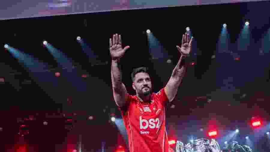 BrTT é o principal nome do time do Flamengo no LoL - Divulgação/Riot Games