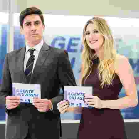 Marcelo Adnet e Dani Calabreza - Victor Pollak / TV Globo - Victor Pollak / TV Globo