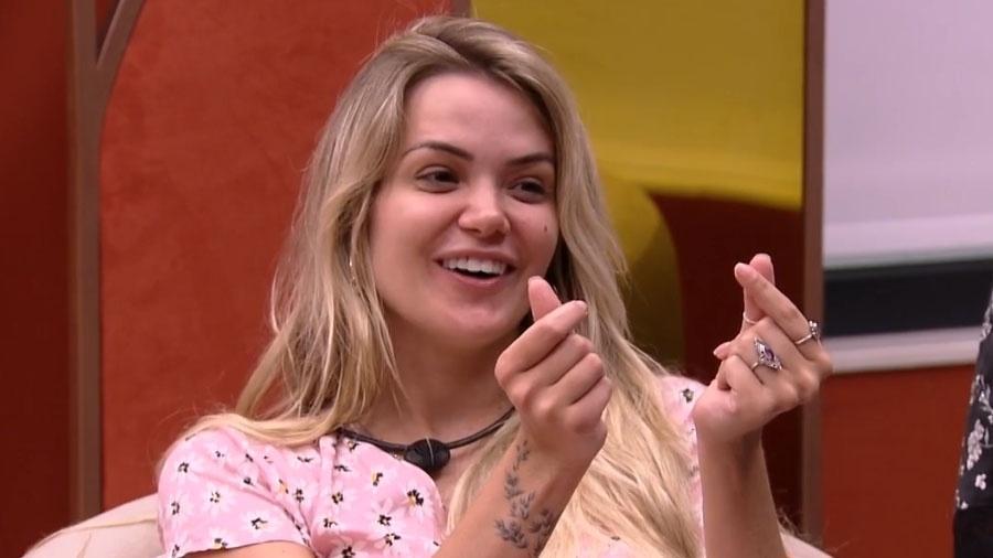BBB 20: Marcela fala de paredão - Reprodução/Globo