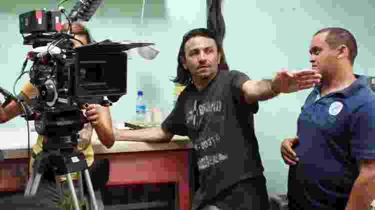 """O diretor Halder Gomes nos bastidores do filme """"Cine Holliúdy"""" - Divulgação - Divulgação"""