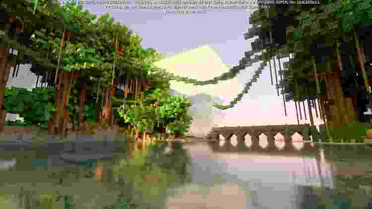Minecraft com Ray Tracing - Sammy Anderson/GameHall - Sammy Anderson/GameHall