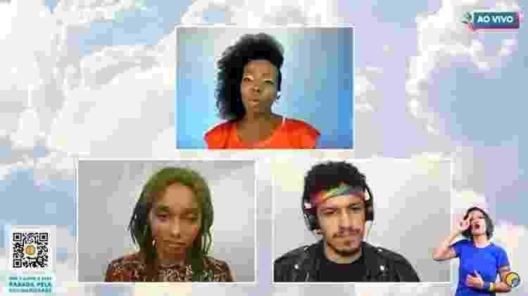 debate na parada online com thelma assis - Reprodução/YouTube - Reprodução/YouTube