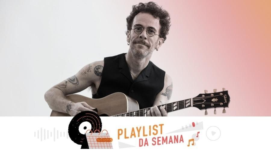 Playlist de Nando Reis - Divulgação/Arte UOL