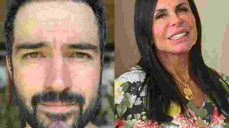 Alfonso Herrera e Gretchen - Reprodução/Instagram