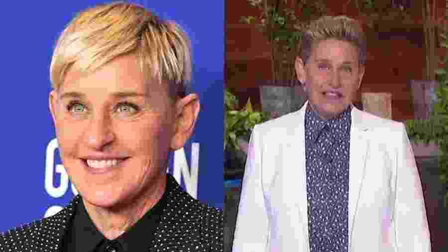 Ellen DeGeneres apareceu com visual novo em seu programa - Reprodução/Instagram/The Ellen Show