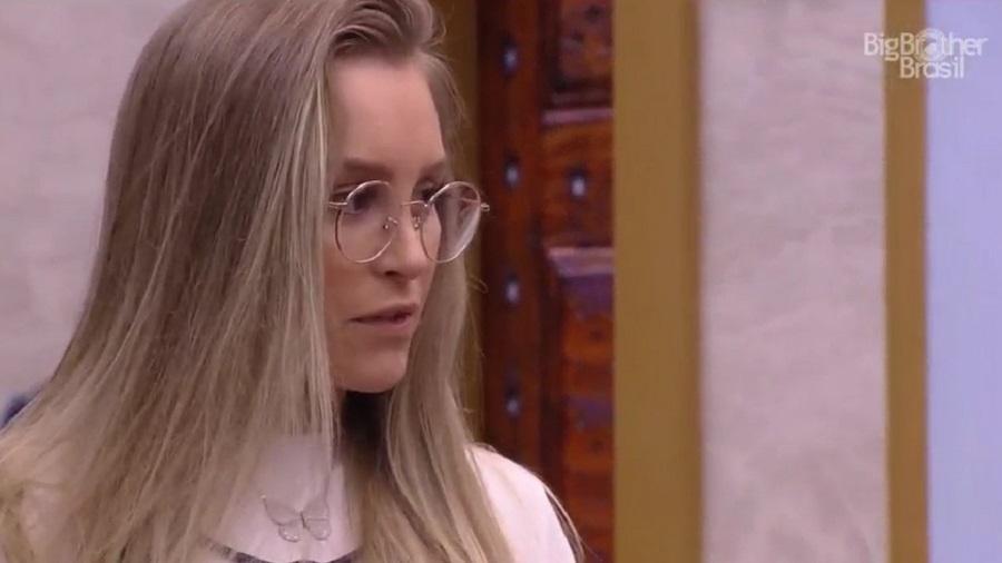 BBB 21: Carla Diaz questiona interesse de Arthur - Reprodução/Globoplay