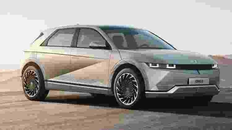 Hyundai Ioniq 5 2022 - Divulgação - Divulgação