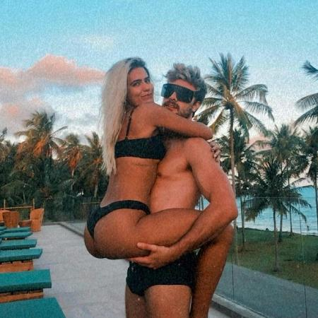 Antonia Morais e Paulo Dalagnoli - Reprodução/Instagram