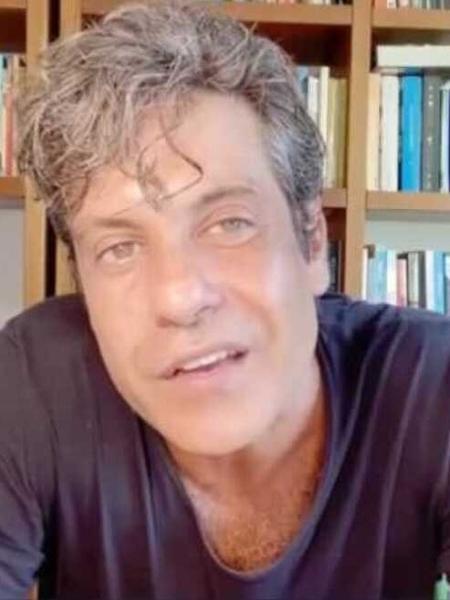 O diretor Pedro Vasconcelos em vídeo publicado no Instagram - Reprodução/Instagram