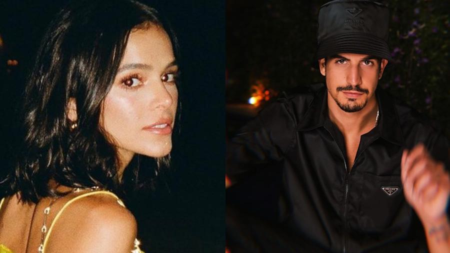 Bruna Marquezine e Enzo Celulari assistem premiação juntos - Imagem: Reprodução/Imstagram@brunamarquezine @enzocelulari