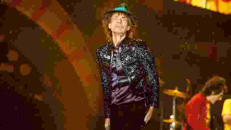 Mick Jagger em show dos Rolling Stones em Porto Alegre, em março de 2016 - Flávio Dutra/UOL