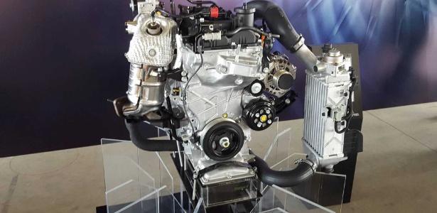Motor turbo do HB20: 1 litro, três cilindros, 105 cv (etanol) e desempenho esperto - Leonardo Felix/UOL