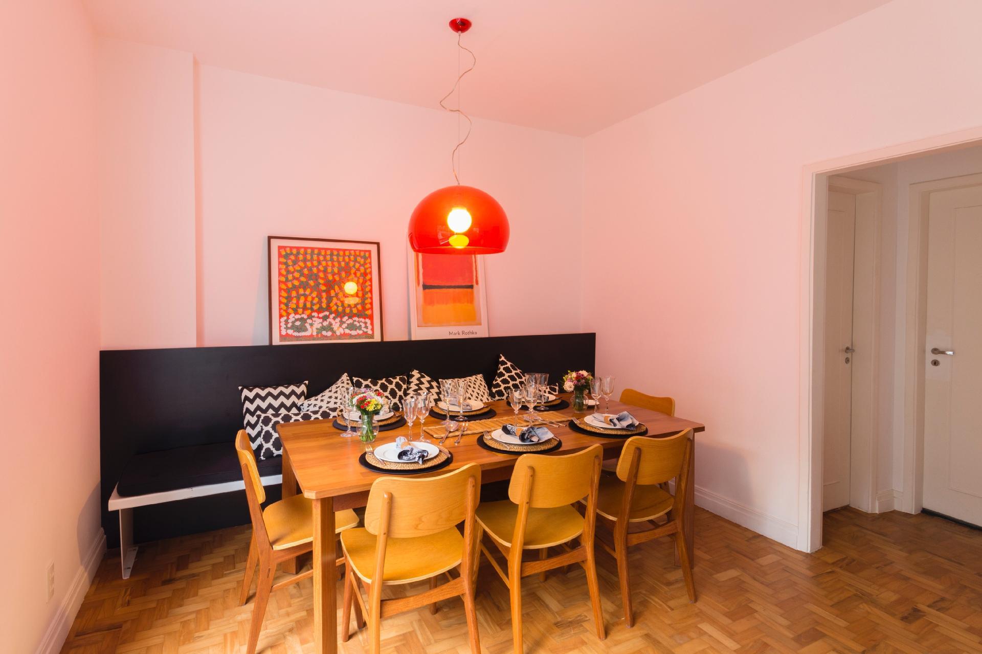 Salas de jantar: ideias para decorar o ambiente BOL Fotos BOL  #C87E03 1920x1279