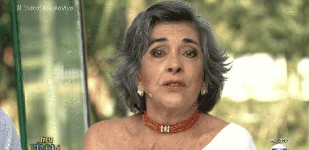 Betty Faria relembra meio século de carreira na Globo e se emociona com homenagem - Reprodução/TV Globo