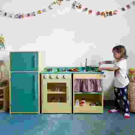 Feira Baby Bum- Cozinha de madeira - Divulgação - Divulgação