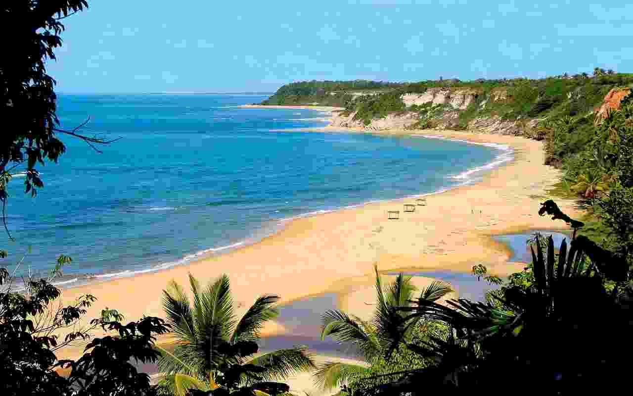 Praia do Espelho, na Bahia - Gabriel Castaldini/Creative Commons