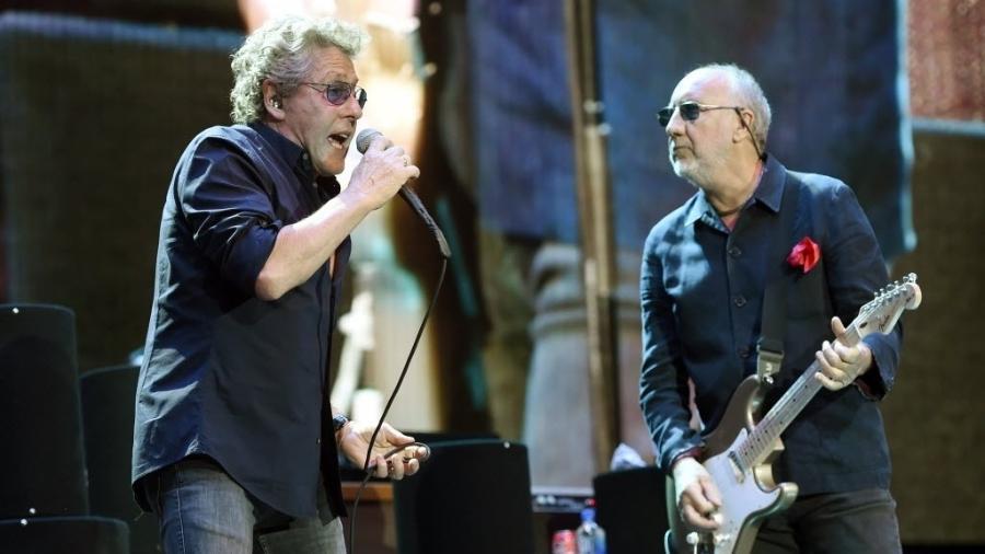 Roger Daltrey e Pete Townshend, do The Who - Chris Pizzello/Invision