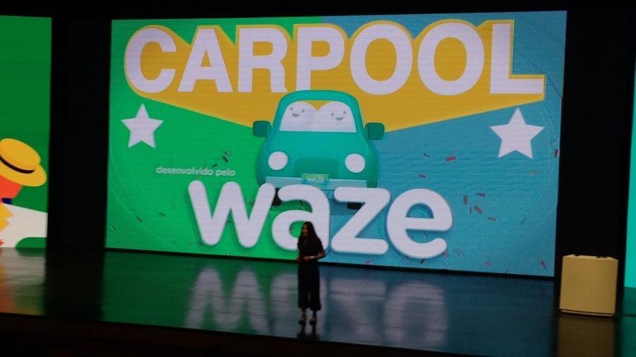 Waze Carpool, nome do serviço fora do país, deve chegar ao Brasil até o final do ano - Gabriel Francisco Ribeiro/UOL