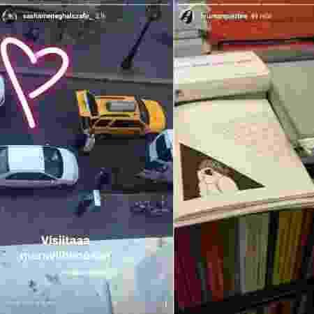 Sasha Meneghel recebe a visita de Bruna Marquezine e leva a amiga para sua faculdade, em Nova York (EUA) - Montagem/Reprodução/Instagram/sashameneghelszafir_/brumarquezine