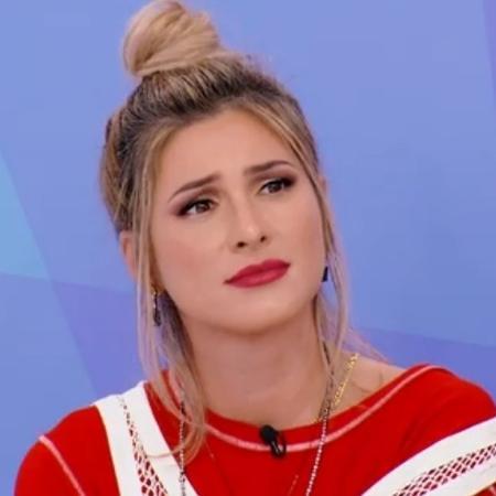 """Lívia Andrade no """"Programa Silvio Santos"""": """"A gente batalha e conquista o que quer"""" - Reprodução/SBT"""