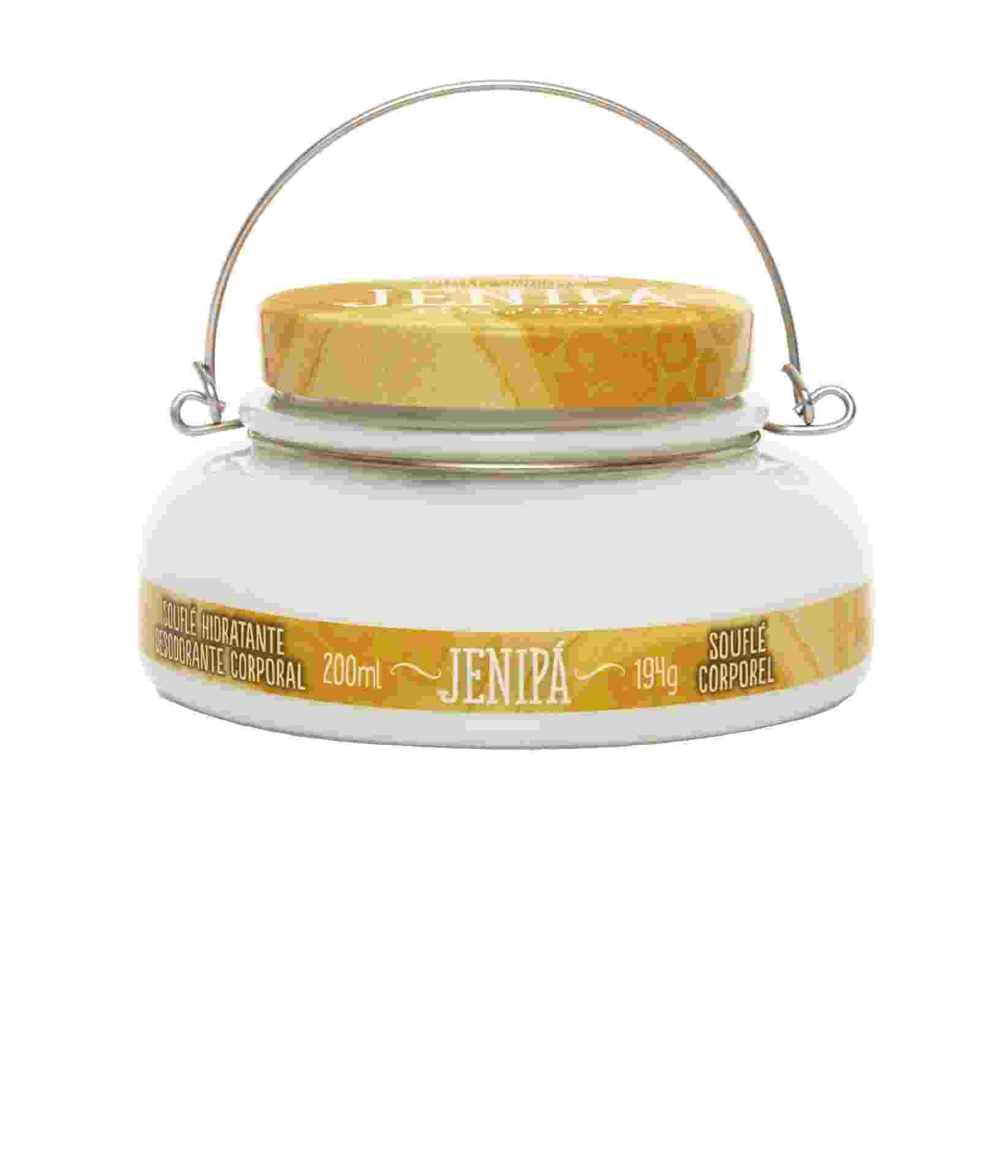 Souflé hidratante desodorante corporal Jenipá: com rápida absorção, é inspirado na textura de doces regionais. R$ 72, L'Occitane au Brésil, br.loccitaneaubresil.com - Divulgação