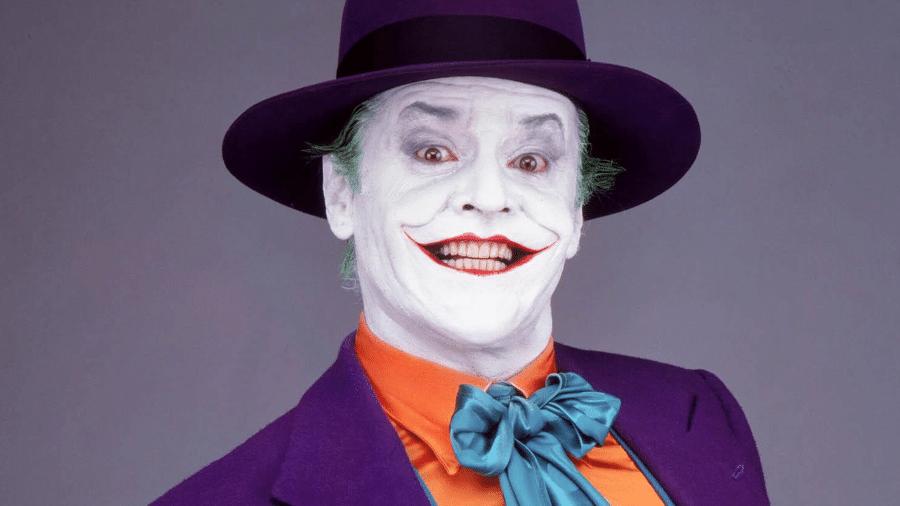 """Jack Nicholson como Coringa em """"Batman"""" - Reprodução"""