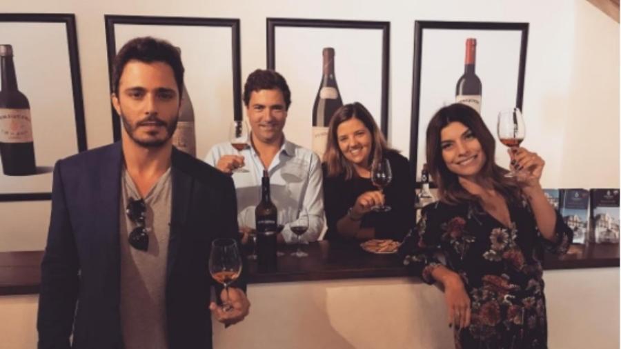 Thiago Rodrigues e Joana Balaguer se reencontram em Portugal - Reprodução/Instagram/euthiagorodrigues