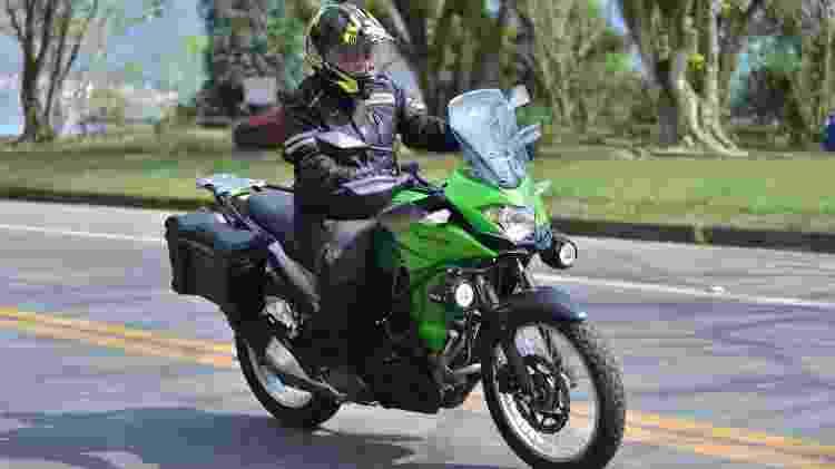Kawasaki Versys X-300 - Divulgação - Divulgação