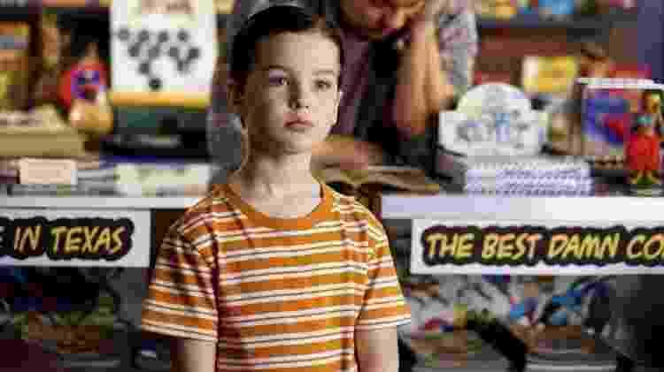 Cena da série 'Young Sheldon', uma das dicas de série de Carol Moreira para a quarentena - Divulgação - Divulgação