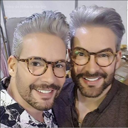 Cabeleireiro lamenta morte de irmão de dupla de sucesso na TV nos anos 90 - Reprodução / Facebook