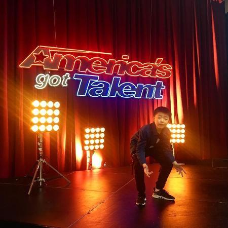 "Jeffrey Li no ""America""s Got Talent"" - Instagram/Reprodução"