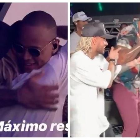 Neymar e Leo Santana - Reprodução/Montagem UOL