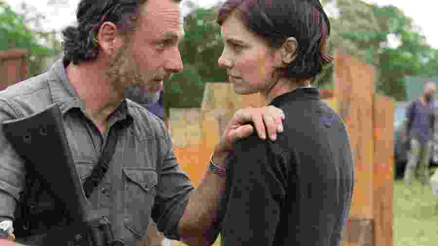Cena da adaptação televisiva de The Walking Dead - Divulgação