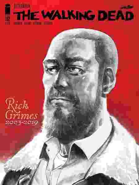 """Capa alternativa de """"The Walking Dead"""" #192 - Divulgação"""